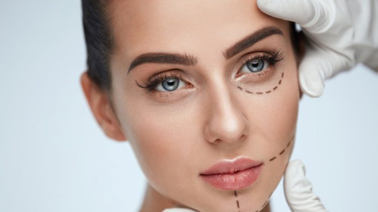 Model Beauty Cosmetic Surgery Lines