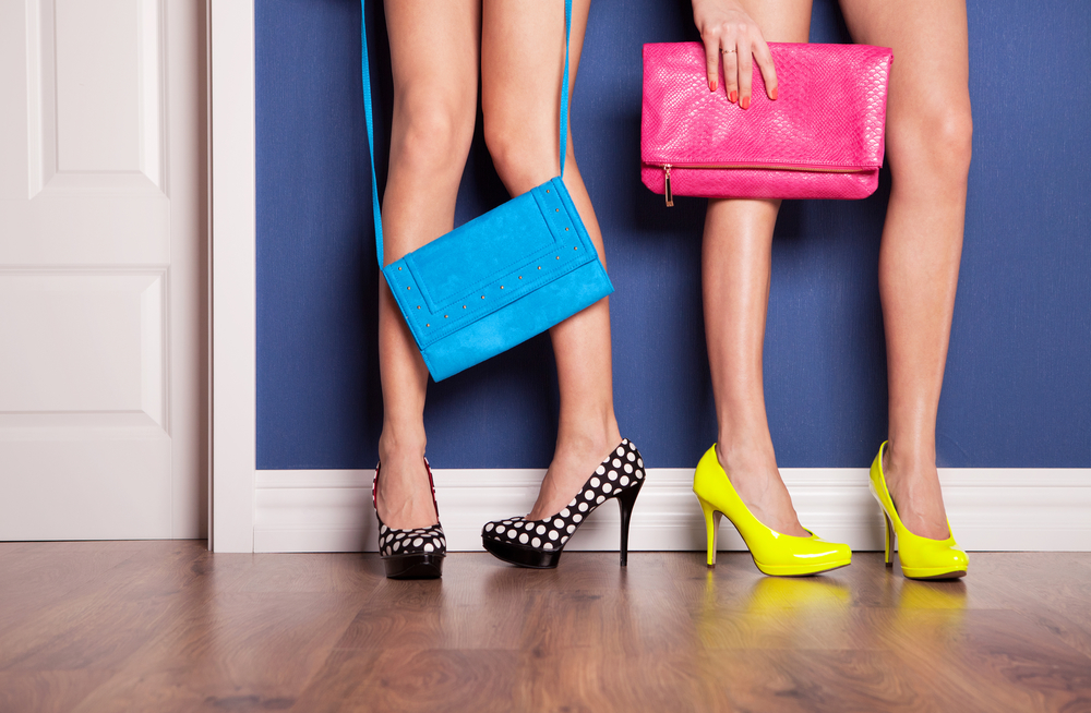 Models Statement Shoes Bags