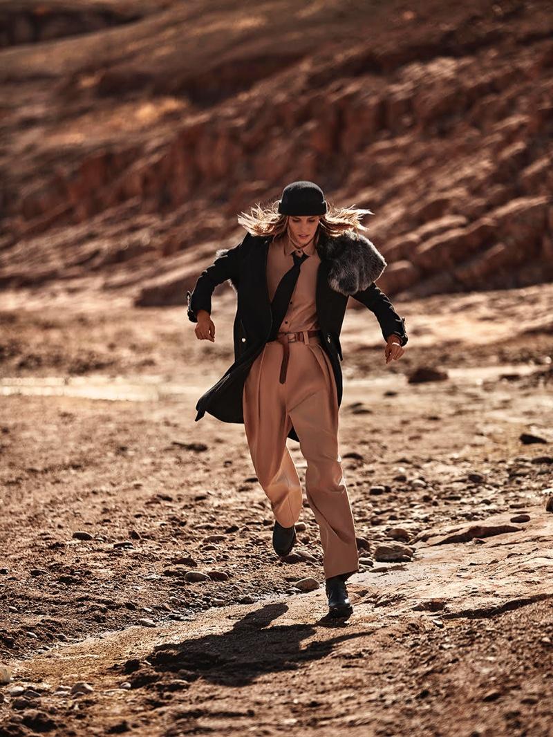 Nadja Bender Embraces Desert Neutrals for TELVA