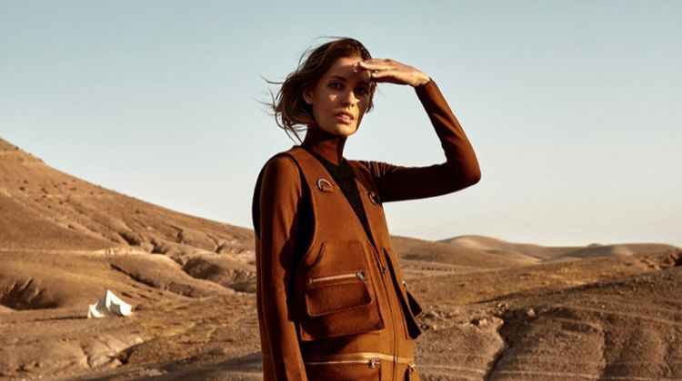 Nadja Bender Embraces Desert Neutrals for TELVA