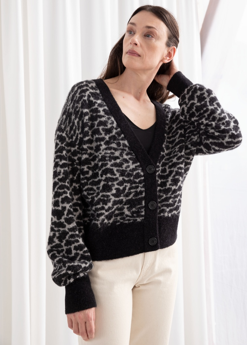 & Other Stories Alpaca Blend Chunky Cardigan $119