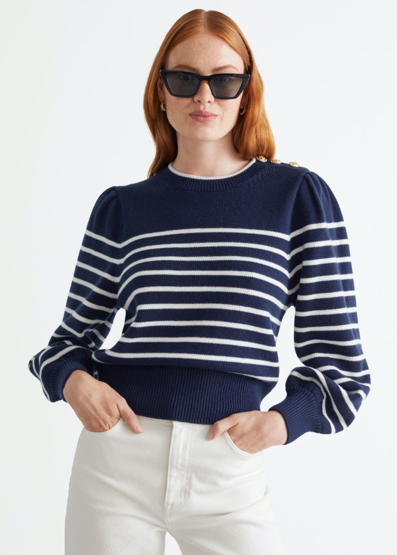 & Other Stories Sailor Stripe Sweater $99