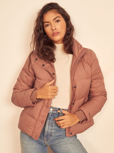 Patagonia W's Silent Down Jacket in Century Pink $249