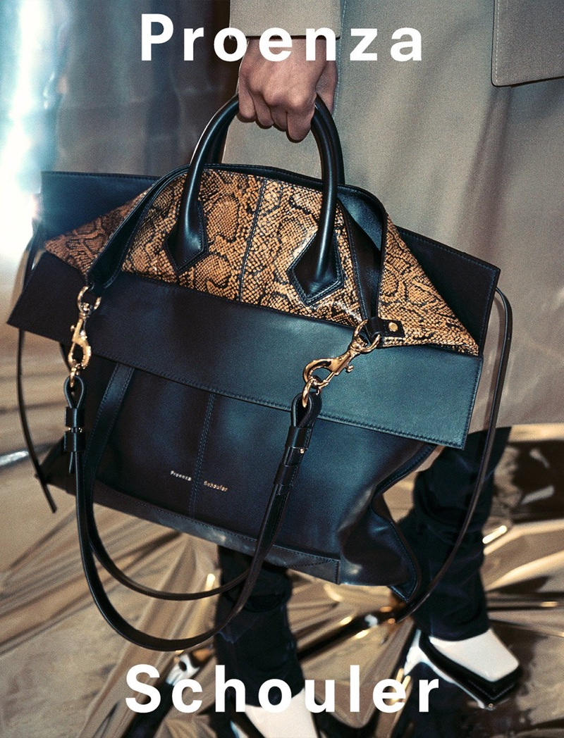 Proenza Schouler focuses on handbags for fall-winter 2019 campaign