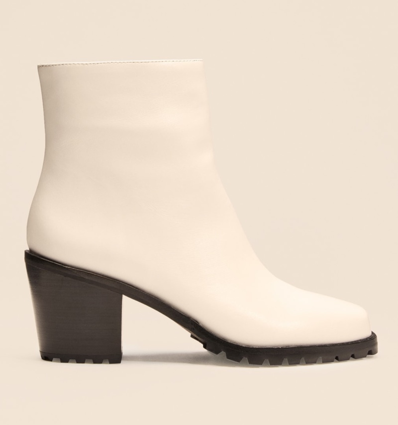 Reformation Florence Boot in White $268