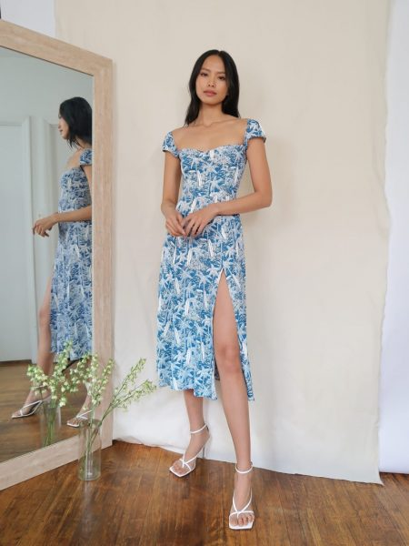 Reformation Levy Dress in Bali $218