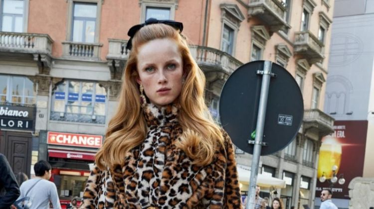 Rianne van Rompaey Takes a Stylish Tour of Milan for Vogue Paris