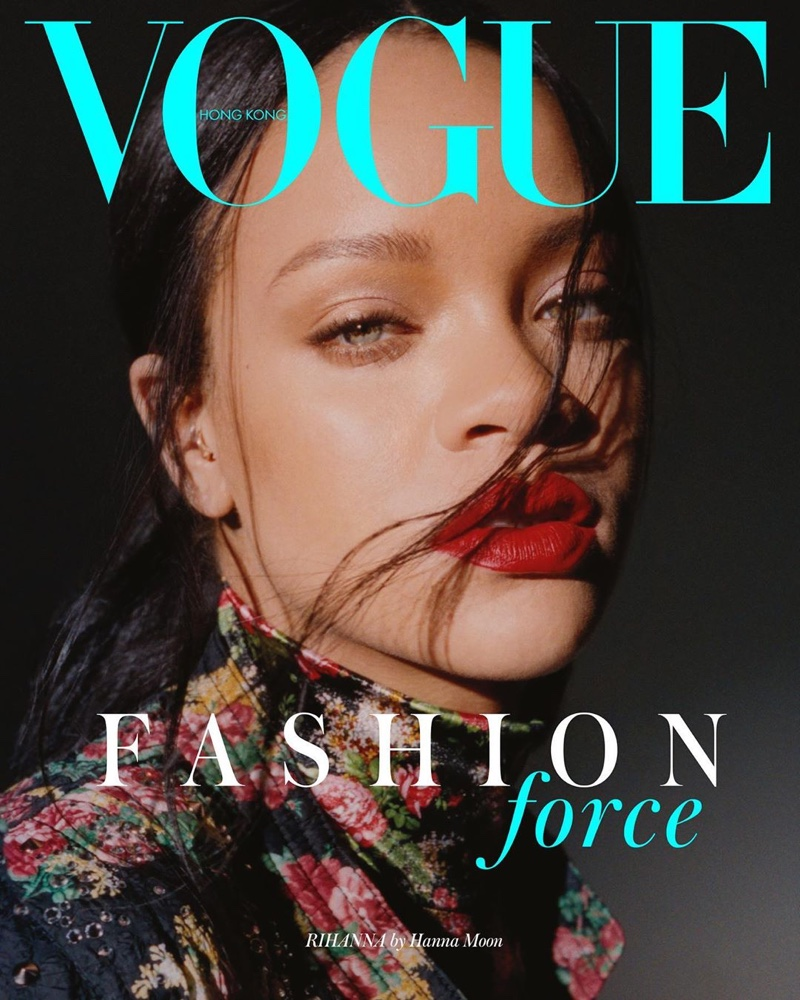 Singer Rihanna on Vogue Hong Kong September 2019 Cover