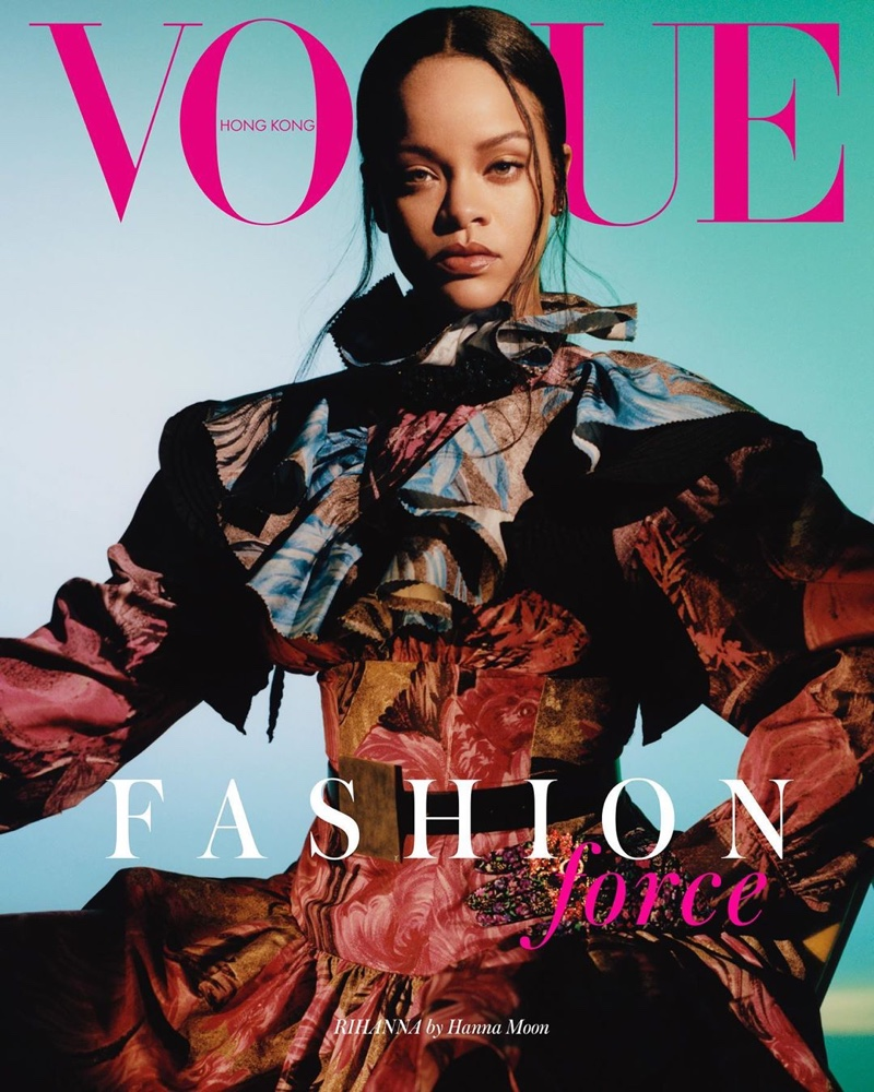 Rihanna on Vogue Hong Kong September 2019 Cover