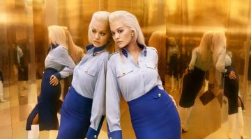 Rita Ora Reflects in Escada Fall 2019 Campaign