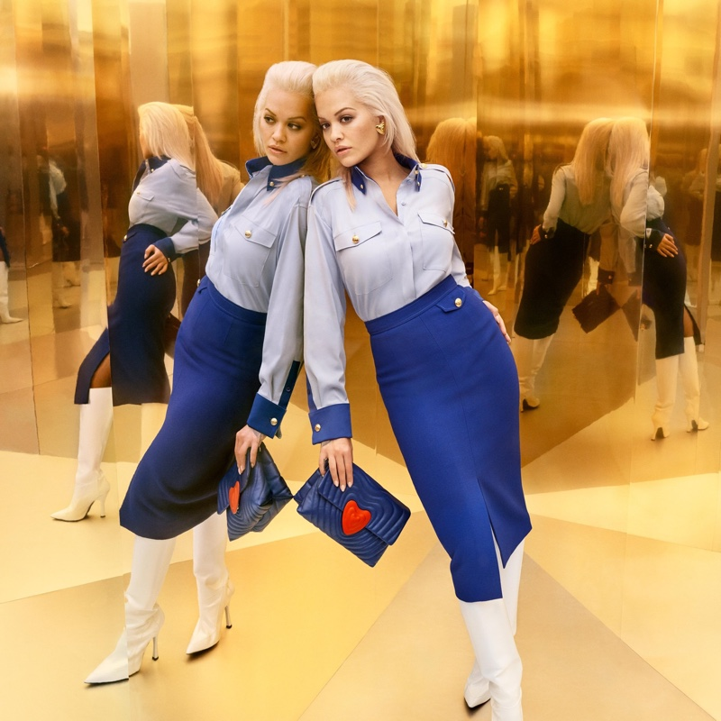 Rita Ora stars in Escada fall-winter 2019 campaign