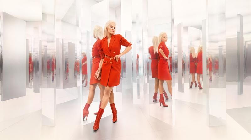 Rita Ora dresses in red for Escada fall-winter 2019 campaign