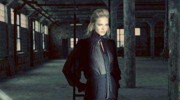 Sasha Luss Embraces Film Noir Style for Harper's Bazaar Taiwan