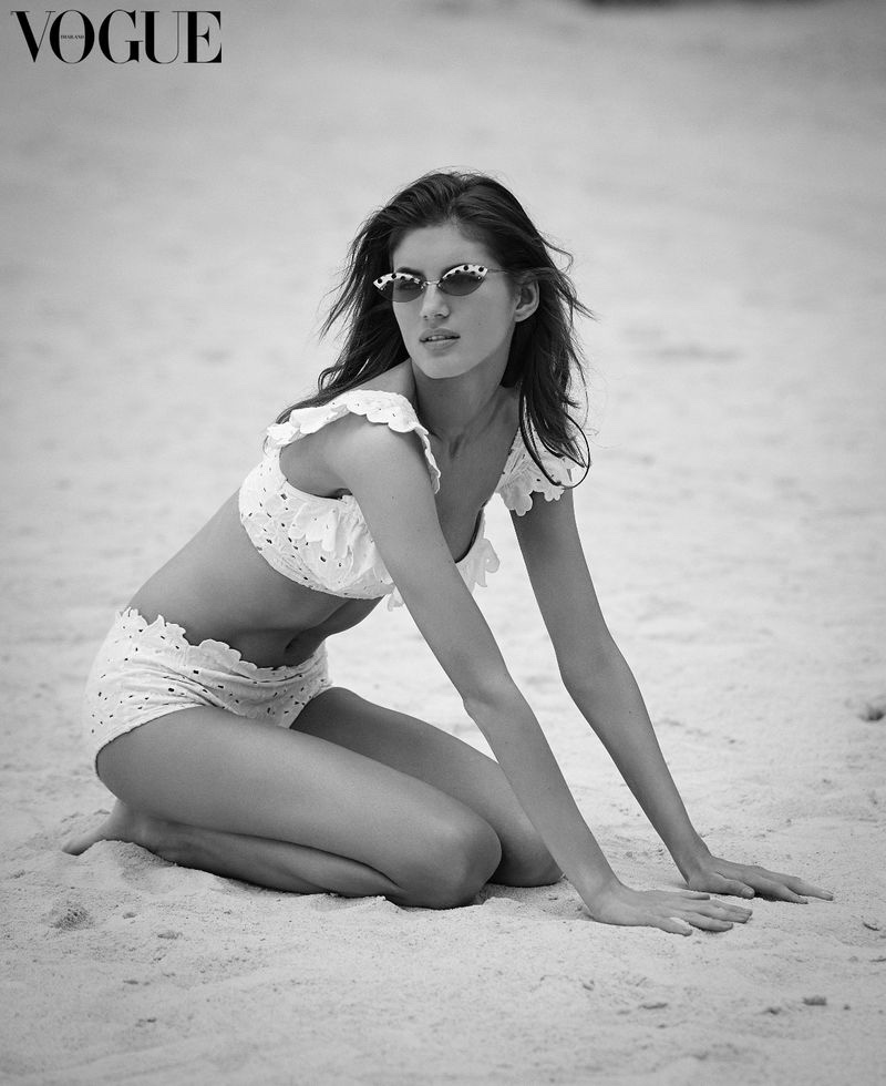 Valery Kaufman Models Chic Beach Looks for Vogue Thailand
