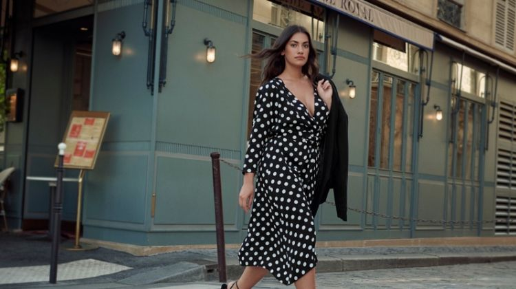 Lorena Duran stars in Violeta by Mango Les Rues de la Mode fall-winter 2019 lookbook