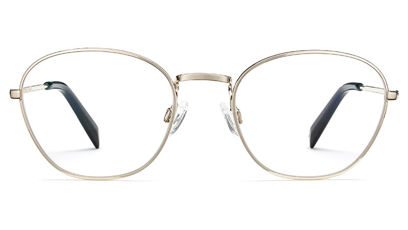 Warby Parker Colby Glasses in Polished Gold $195