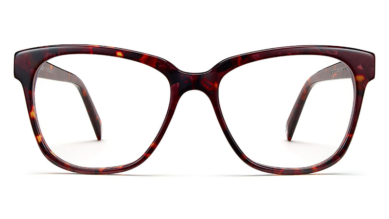 Warby Parker Francis Glasses in Fig Tortoise $95