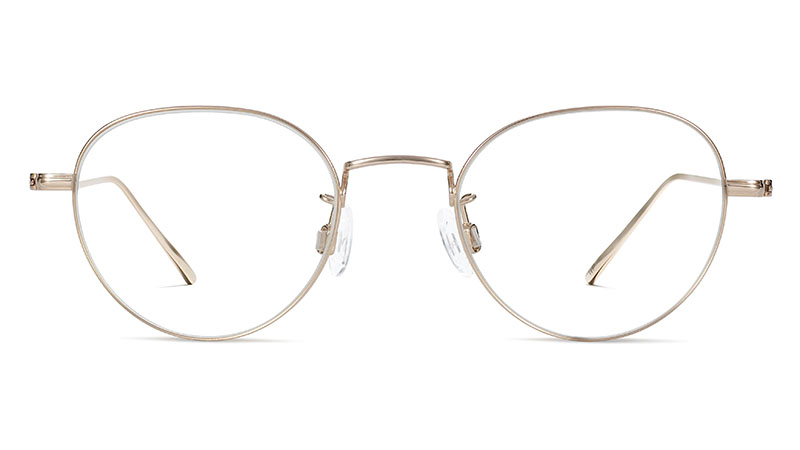 Warby Parker Marston Glasses in Polished Gold $195
