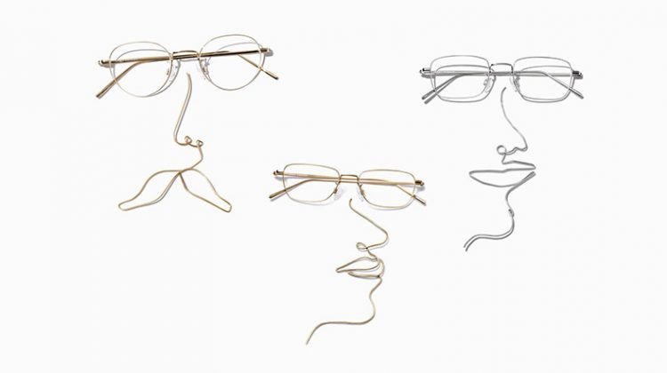 Warby Parker metal glasses