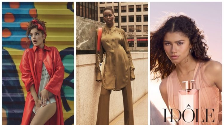 Week in Review | Barbara Palvin's New Cover, Adut Akech for H&M, Zendaya Fronts Lancome + More