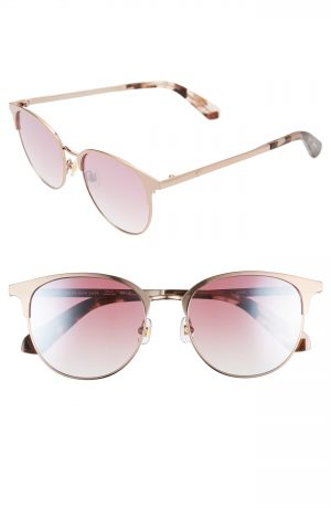 Women's Kate Spade New York Joelynn 52Mm Sunglasses - Pink/ Havana