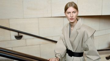 Julia Nobis stars in Zara Monday to Friday fall-winter 2019 lookbook
