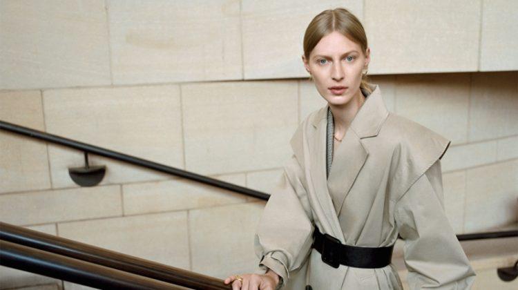 Julia Nobis stars in Zara Monday to Friday fall-winter 2019 lookbook