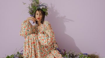 Zawe Ashton Is In Full Bloom for Bustle