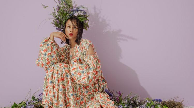 Zawe Ashton Is In Full Bloom for Bustle