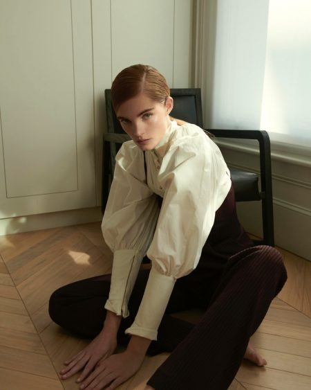 Alexina Graham Models Sleek Looks for Numero Russia