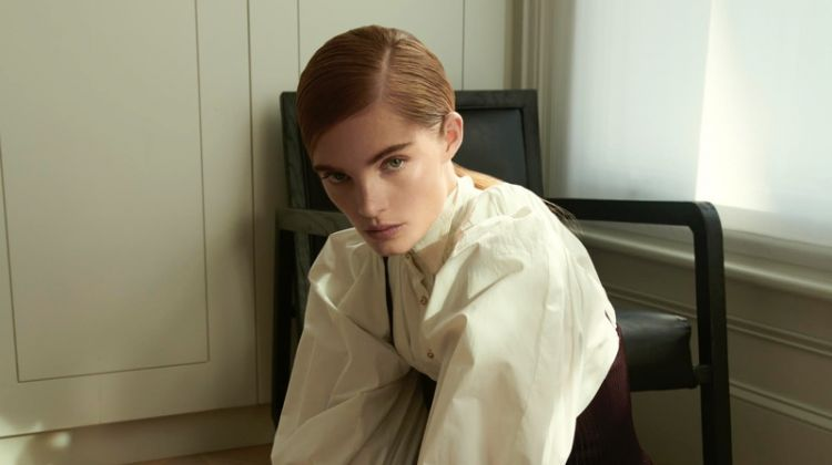 Alexina Graham Models Sleek Looks for Numero Russia