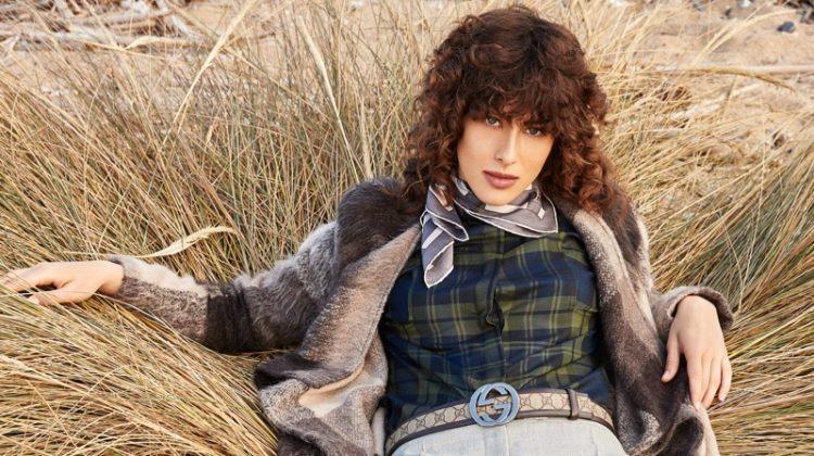 Alison Ferrioli Wears Chic Outdoor Styles for L'Officiel Arabia