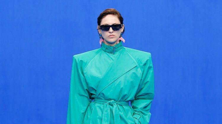 Balenciaga Celebrates Workwear for Spring 2020