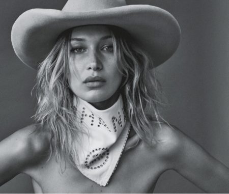 Bella Hadid Channels Western Glam for Vogue Australia