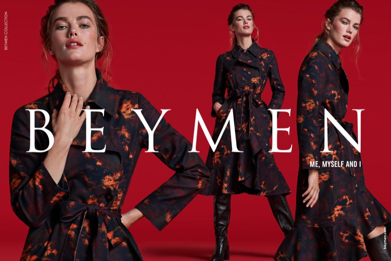 Mathilde Brandi stars in Beymen Collection fall-winter 2019 campaign