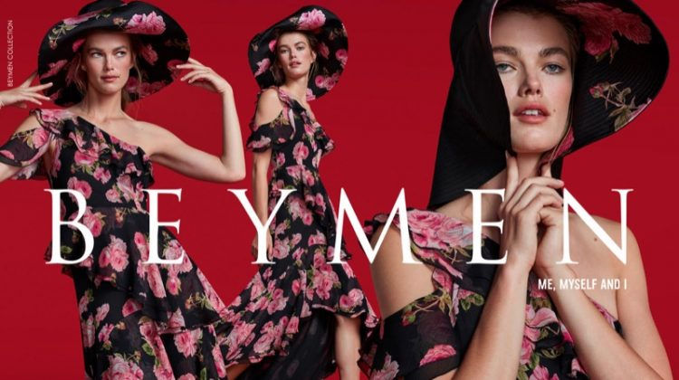 Floral print stands out in Beymen Collection fall-winter 2019 campaign