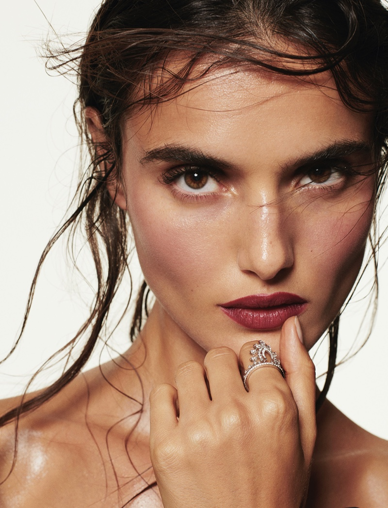 Blanca Padilla Models Givenchy Beauty for Fashion & Arts Magazine