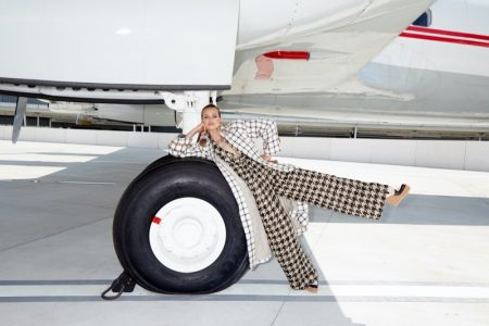 Birgit Kos Is Ready to Fly for Bergdorf Goodman Fall Collections