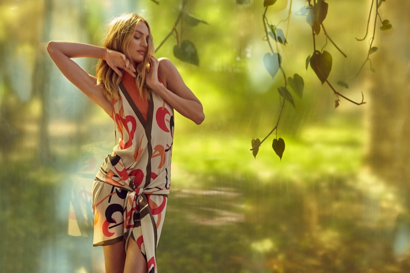 An image from Animale's Summer Garden 2019 advertising campaign