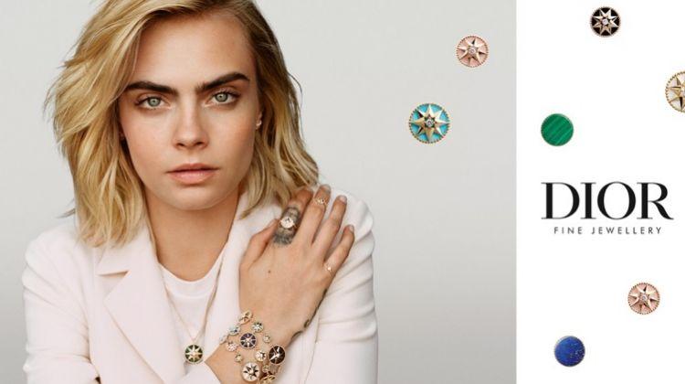 Cara Delevingne stars in Dior Joaillerie Rose des Vents campaign