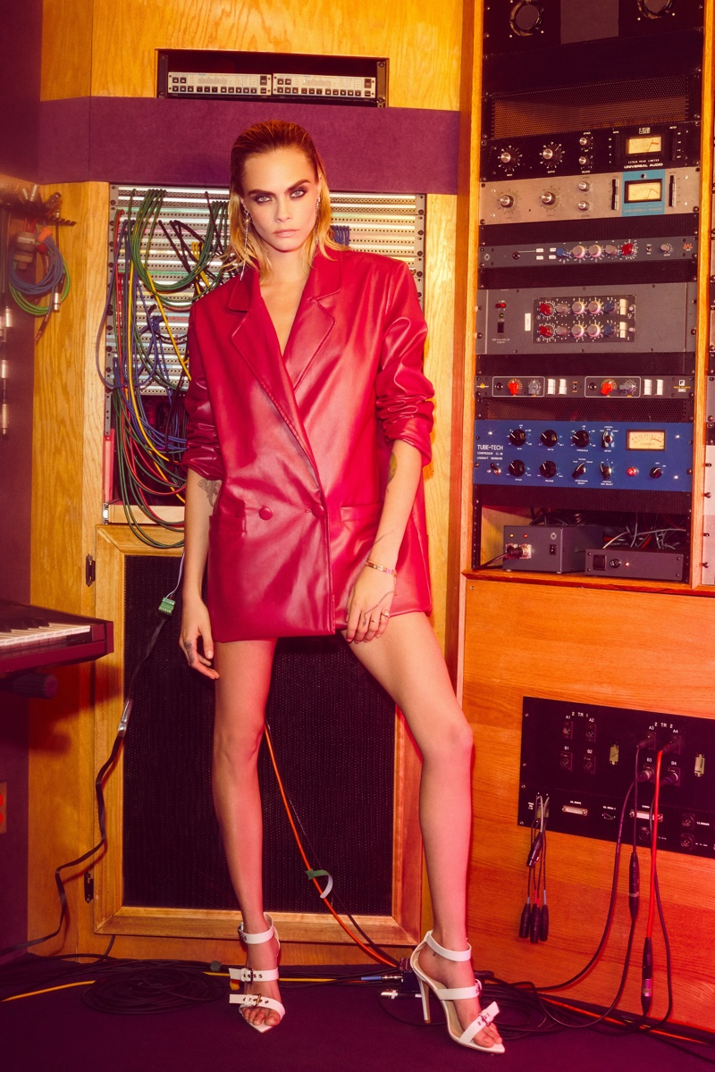 The Nasty Gal x Cara Delevingne collection features party looks