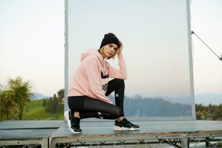 PUMA taps Cara Delevingne for Nova Suede sneaker campaign