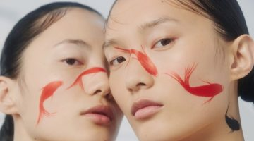 Chunjie Liu & Liu Huan Wear Dramatic Beauty for Harper's Bazaar China