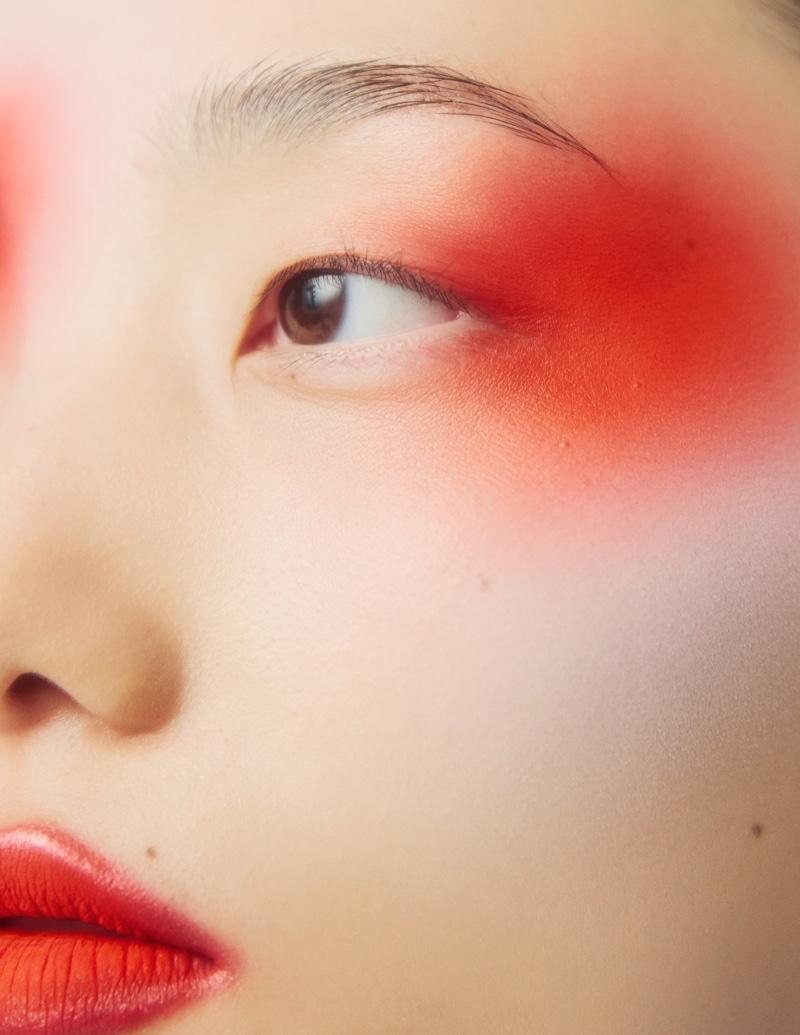 Chunjie Liu & Liu Huan Wear Dramatic Beauty for Harper's Bazaar China