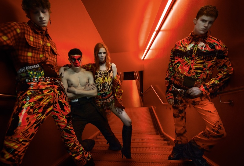 DSquared2 unveils fall-winter 2019 campaign