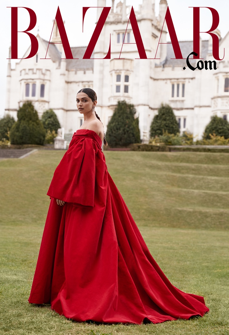 Deepika Padukone on Harper's Bazaar Online Fall 2019 Digital Cover