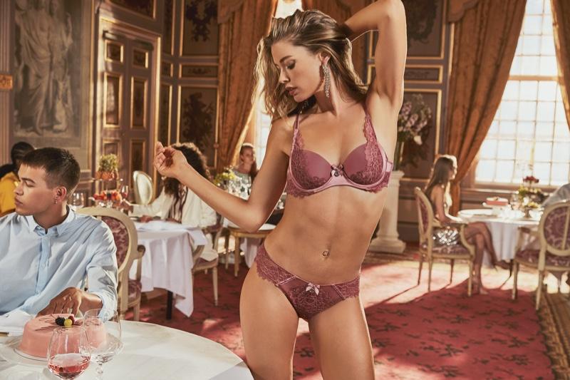 Model Doutzen Kroes reunites with Hunkemoller for 2019 lingerie collaboration