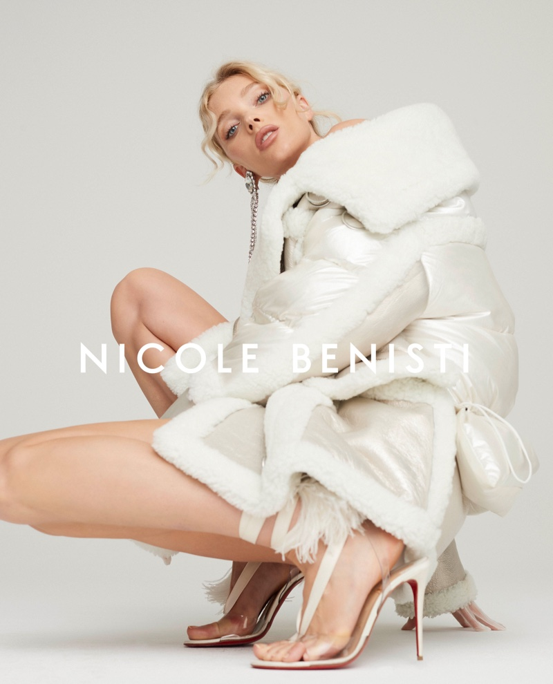 An image from Nicole Benisti's fall 2019 advertising campaign