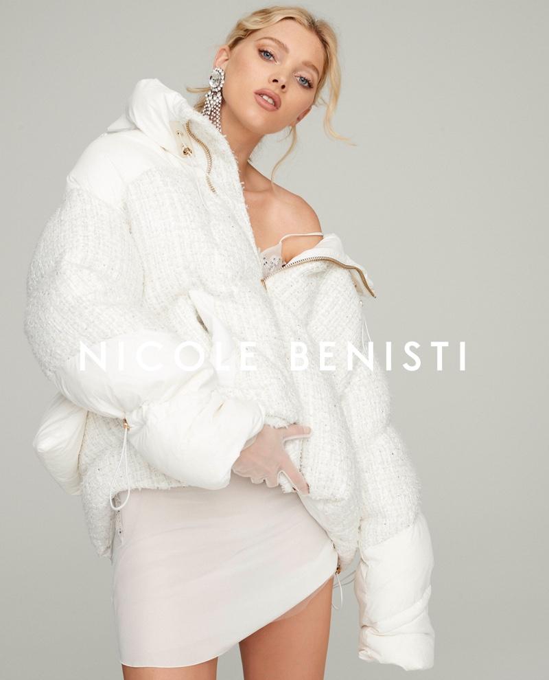 Elsa Hosk stars in Nicole Benisti fall-winter 2019 campaign