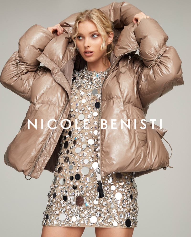 Elsa Hosk fronts Nicole Benisti fall-winter 2019 campaign